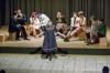 """Am Theaterstück """"Captured in Paradise"""" wirkten Schülerinnen und Schüler aus drei Nationen mit. Hier die Niederländer, die den zweiten Akt gestalteten."""