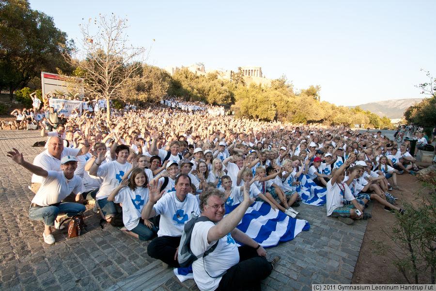 Die Schulgemeinschaft in Athen 2011