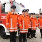 Freiwillige Feuerwehr Handrup regelt Verkehr bei Abiturentlassung und Ehemaligentreffen 2011.