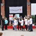 Siegerehrung beim SSD-Wettbewerb: 4. und 14. Platz für die beiden Gruppen vom Leoninum