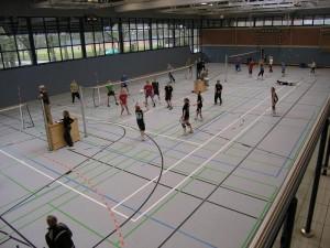 Volleyballturnier ehemaliger Schülerinnen und Schüler