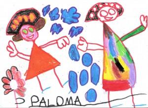 Spanien 2013 - paloma