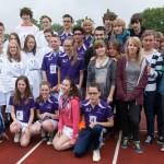 """Die """"Aktiven"""" bei der Comenius-Olympiade 2013 (Sosnowiec, Bergen op Zoom, Handrup)"""