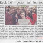 """Bericht in den """"Osnabrücker Nachrichten"""" vom 19. Mai 2013"""