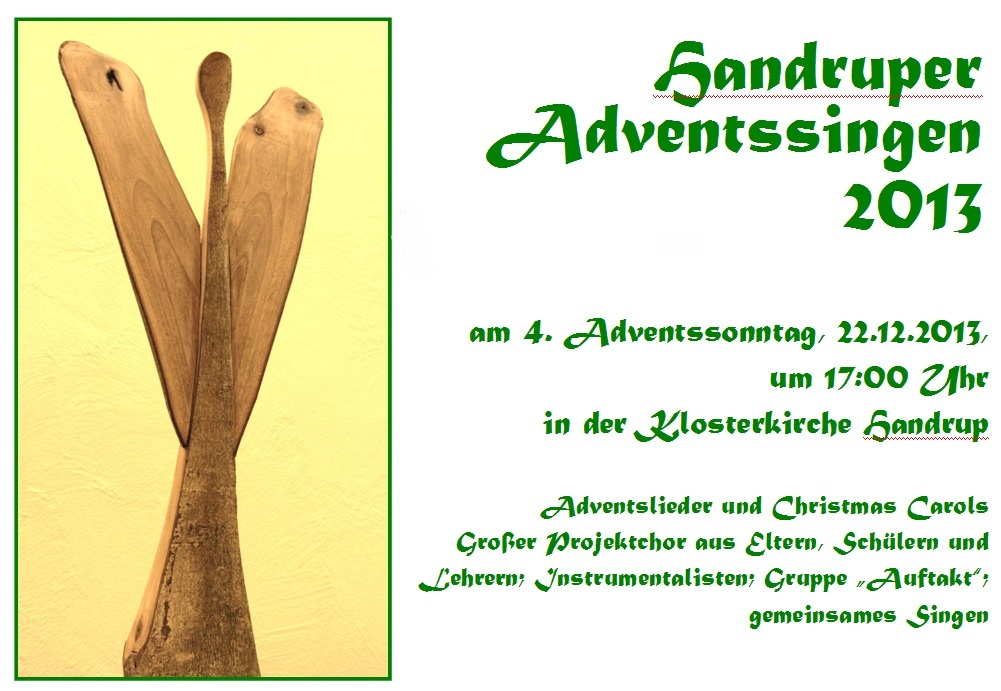 Adventssingen 2013