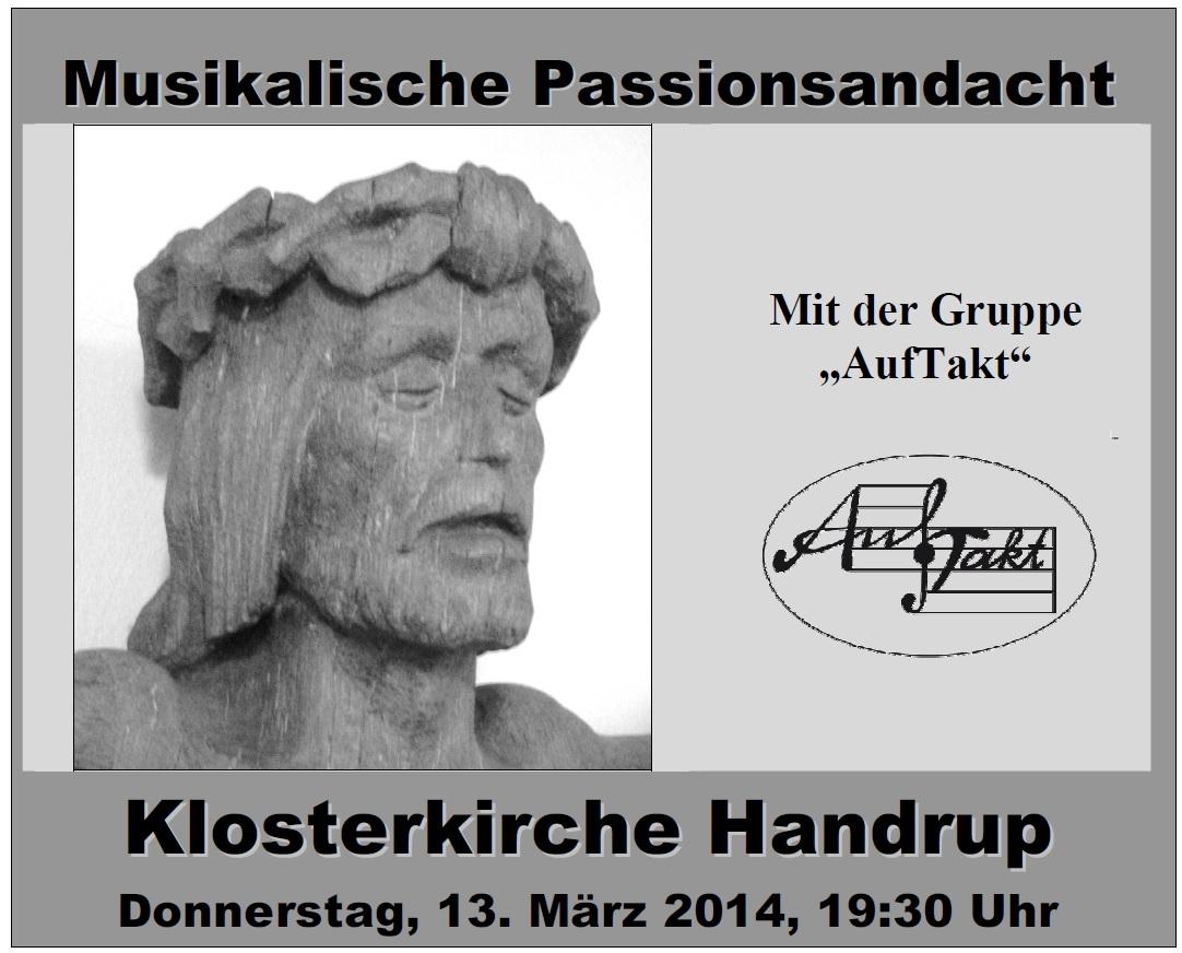 Musikalische Passionsandacht 2014