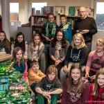 Teilnehmer beim Vorlesewettbewerb der Klassen 6 im Jahr 2014