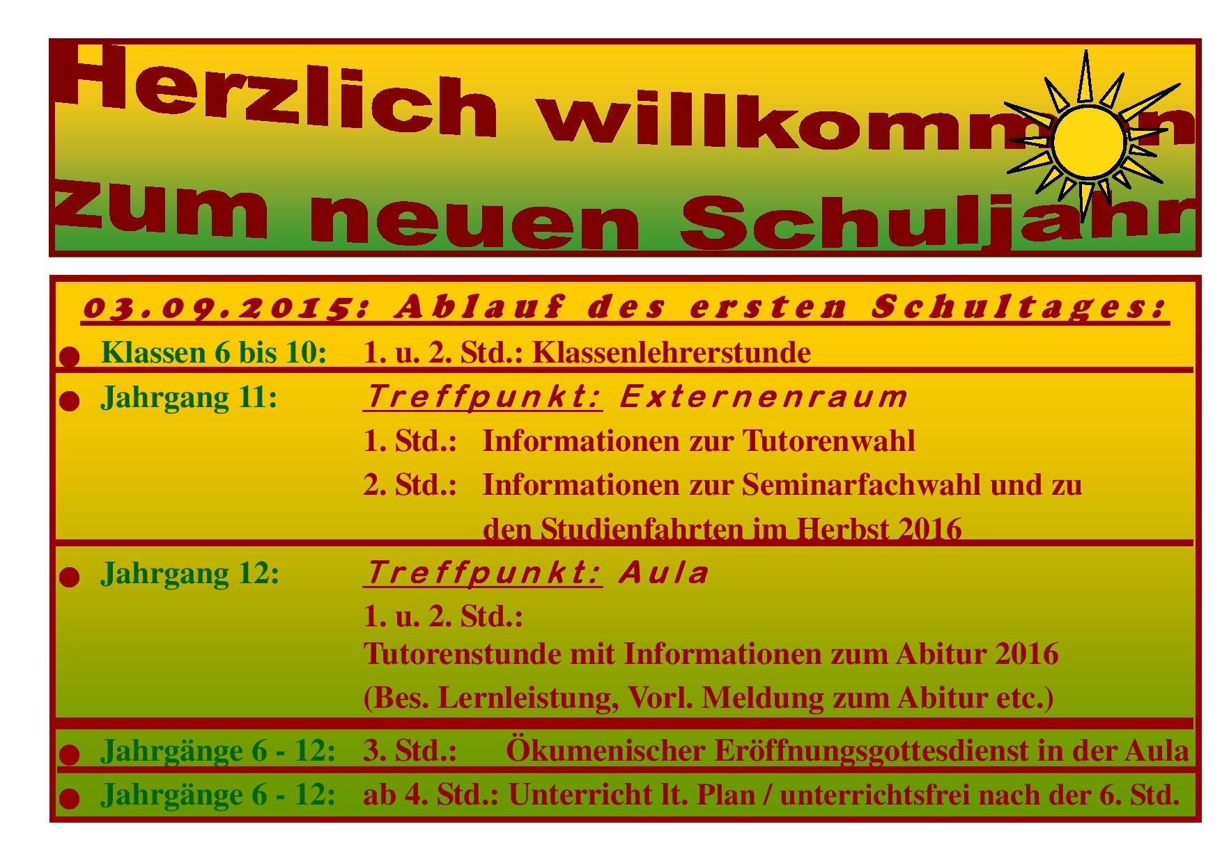 02 -  1 Erster Schultag 2015