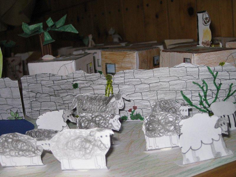 Ein Dorf zur Zeit Jesu – ein Projekt der Klasse 5e