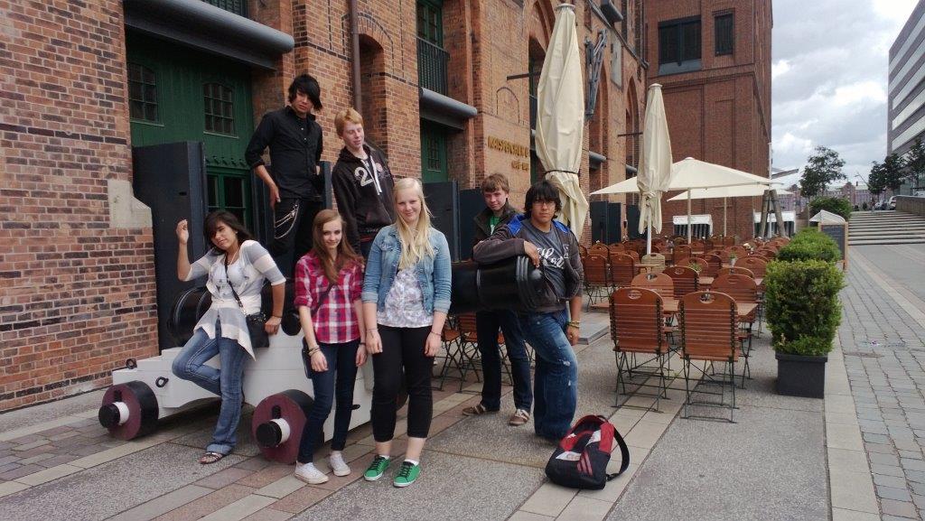 Deutsch-amerikanische Schülerbegegnung 2013